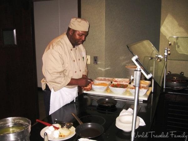 Westin Southfield Detroit  - breakfast buffet