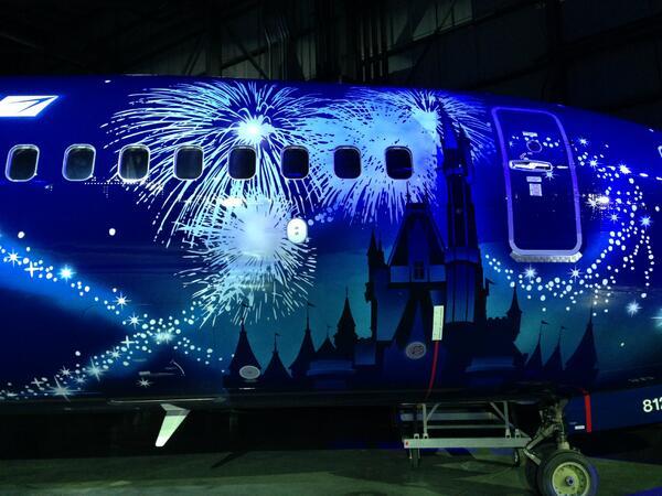 Westjet's Magic Plane