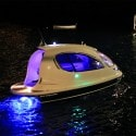 Jet Capsule - at night