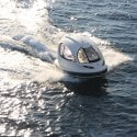 Jet Capsule on the water