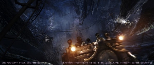 Wizarding World of Harry Potter - Harry Potter and the Escape from Gringotts