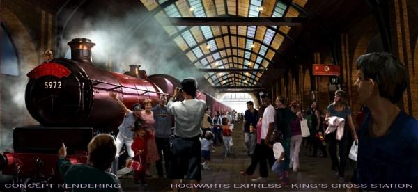 Wizarding World of Harry Potter - King's Cross Station