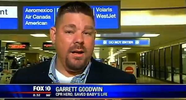 Airport hero Garrett Goodwin