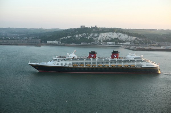 Disney Cruise Line  Sails to Dover