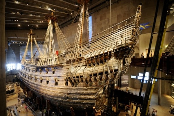 Disney Cruise Line Vasa Ship Museum in Stockholm, Sweden