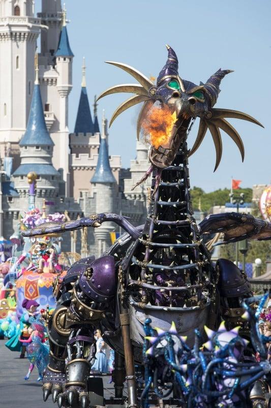 Disney Festival of Fantasy Parade Maleficent from Sleeping Beauty