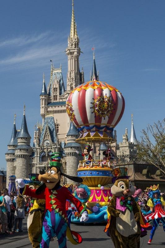 Disney Festival of Fantasy Parade Mickey's Airship