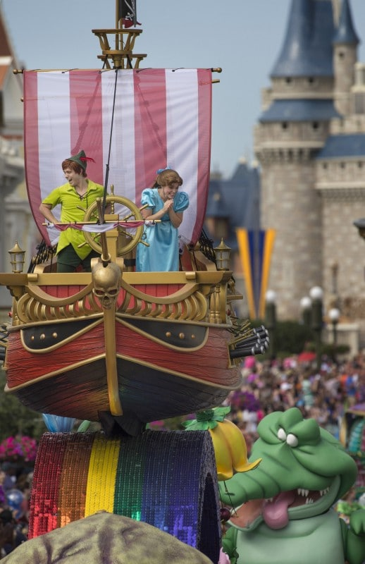 Disney Festival of Fantasy Parade Peter Pan