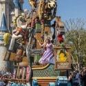 Disney Festival of Fantasy Parade Rapunzel from Tangled