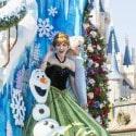 Disney Festival of Fantasy Parade - The princess garden Frozen