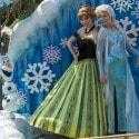Disney Festival of Fantasy Parade - elsa and anna from Frozen
