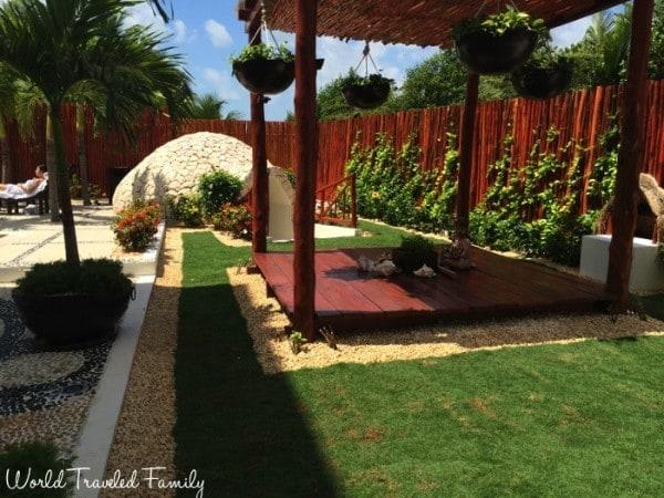 Naay Spa at Eldorado - outdoor meditation and temazcal