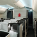 Air Canada 787 Dreamliner Business class cabin