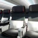Air Canada 787 Dreamliner economy cabin