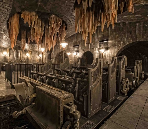 Diagon Alley, the Escape from Gringotts Universal Orlando