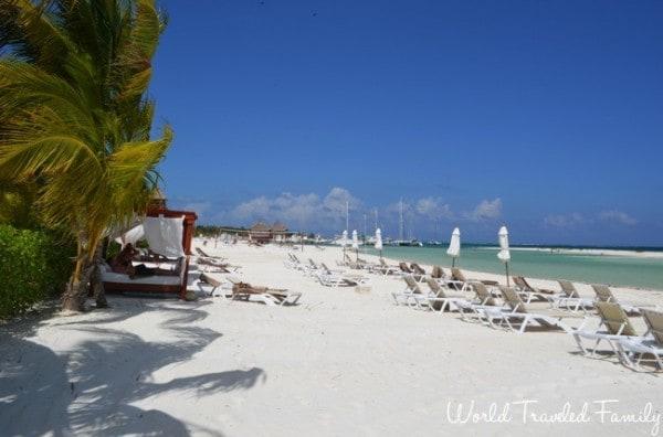El Dorado Maroma Beachfront Villas - beach