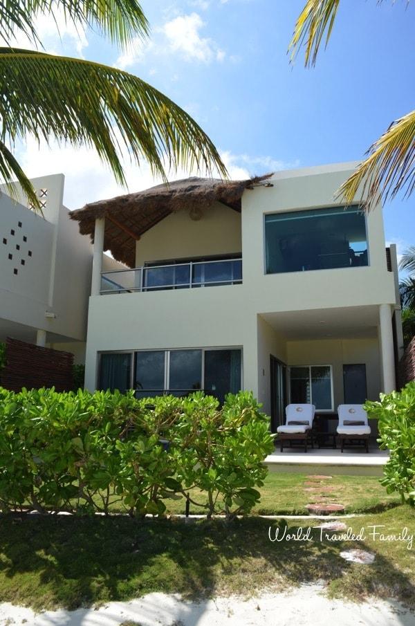 El Dorado Maroma Beachfront Villas - beach view