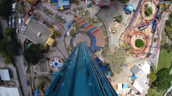 Falcon's Fury from the top