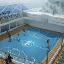 Regal Princess Cruise Ship  - sports court