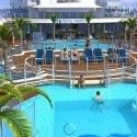 Regal Royal Princess Cruise Ship  - main pool area