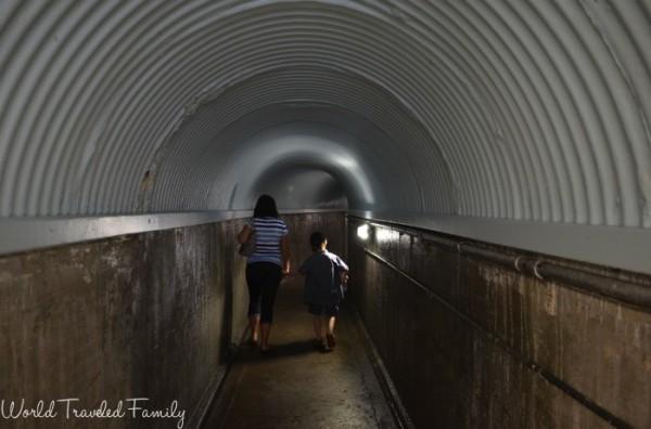 Tunnel to White Water Walk in Niagara Falls