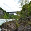 White Water Walk in Niagara Falls - Whirlpool bridge