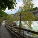 White Water Walk in Niagara Falls - boardwalk