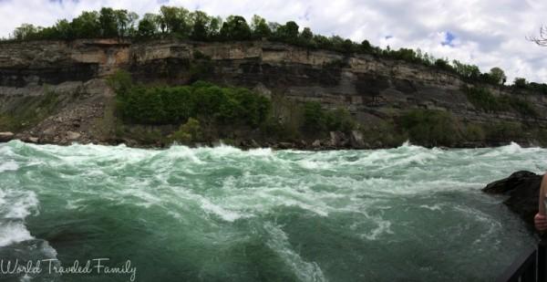 White Water Walk in Niagara Falls - panorama