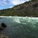 views of White Water Walk in Niagara Falls