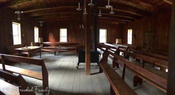 Black Creek Pioneer Village - Edgely Mennonite Meeting House