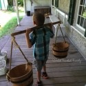 Black Creek Pioneer Village - earning his keep at the doctor's house