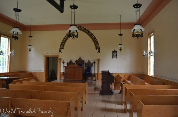 Doon Heritage Village - church