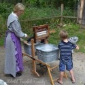 Doon Heritage Village - doing chores
