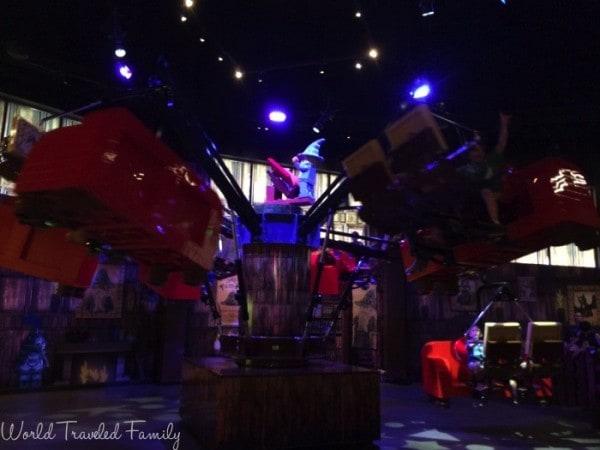 Legoland Discovery Center Toronto - Merlin's apprentice ride