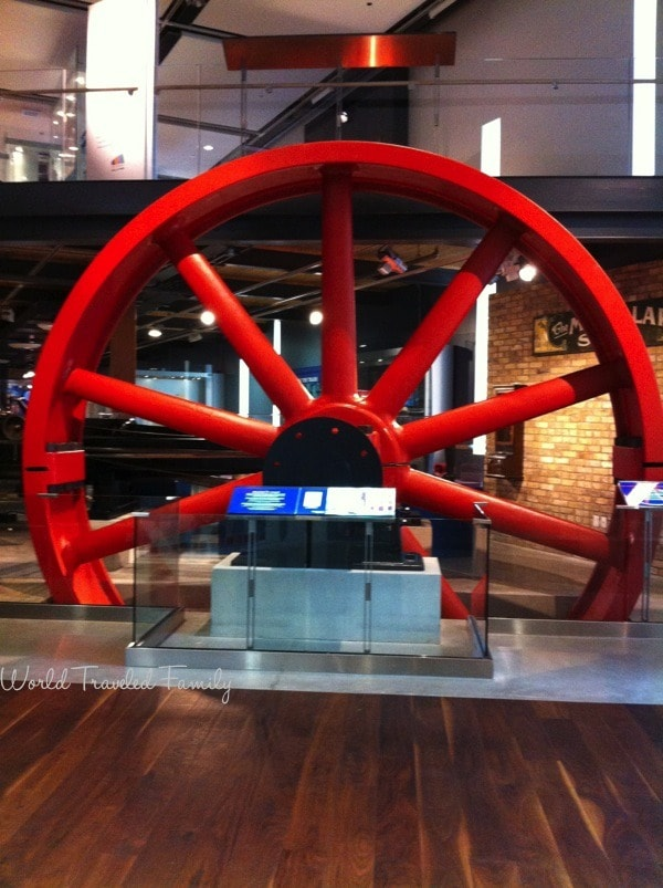The Waterloo Museum - Hazel the red wheel
