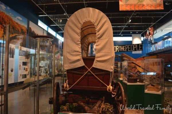 The Waterloo Museum - conestoga wagon