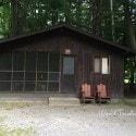 Letchworth State Park - Cabin #19 A Cabin area