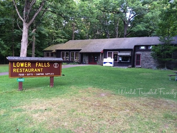 Letchworth State Park Lower Falls Restaurant