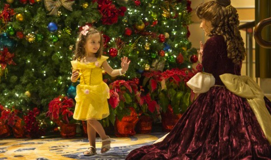 Magical Winter Holidays onboard Disney Dream - belle