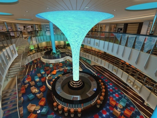 Carnival Vista Atrium wide