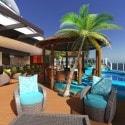 Carnival Vista  Havana Pool