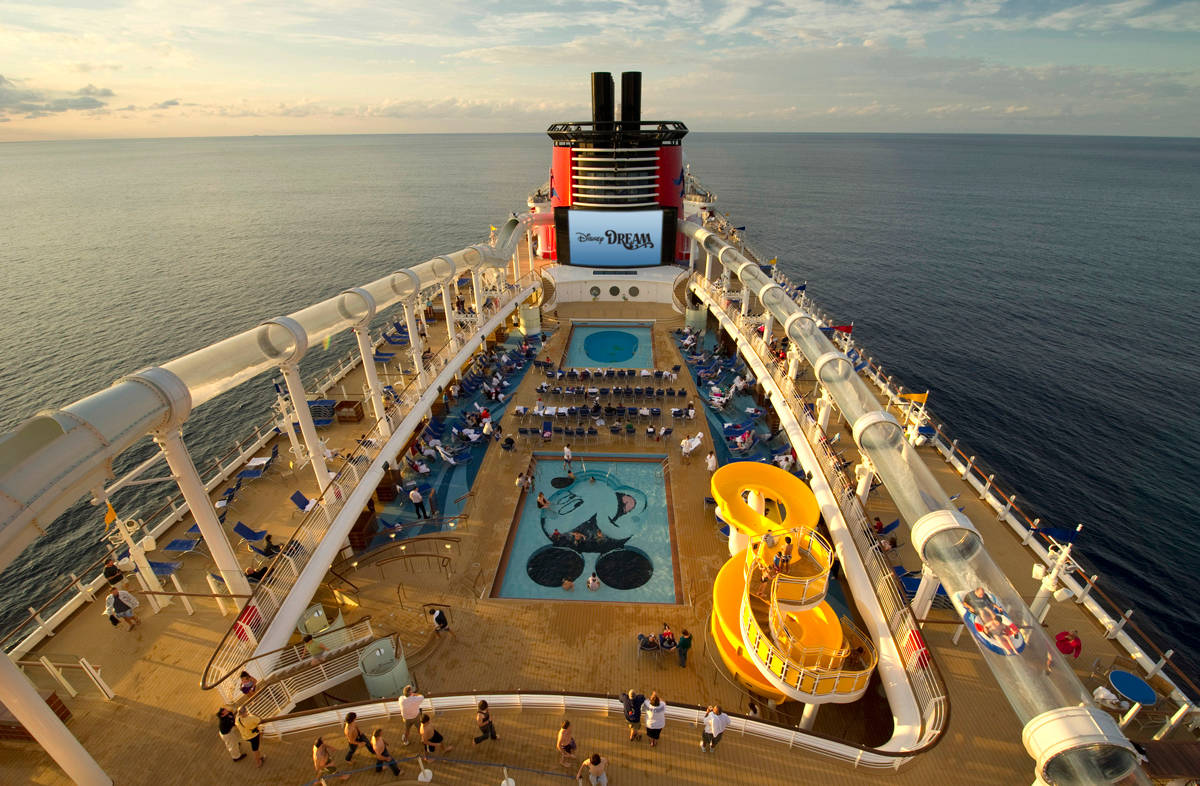 Disney Dream Deck World Traveled Family