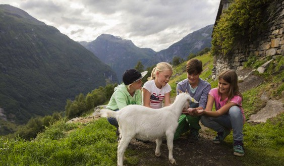 Norwegian Fjords family vacation
