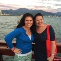 Pirate dinner cruise Puerto Vallarta - Hollie Schultz and Lisa Arneill