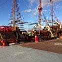 Pirate dinner cruise Puerto Vallarta - ship