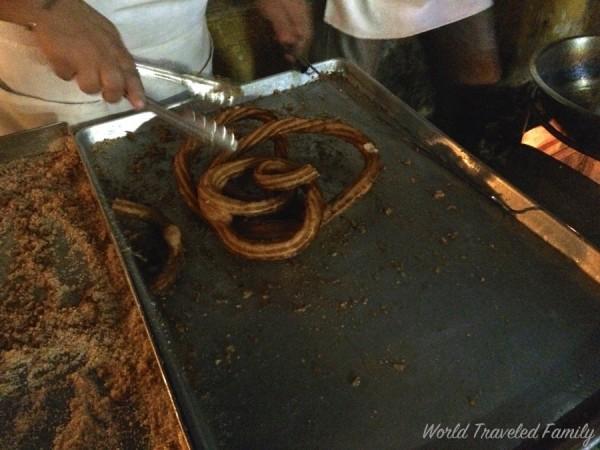 Vallarta Food Tours - Junlio's churros