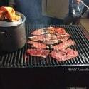 Vallarta Food Tours - Tacos Memo grilling beef