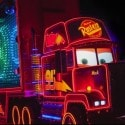 Mack Truck in Paint the Night