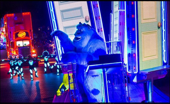 Sulley in Paint the Night