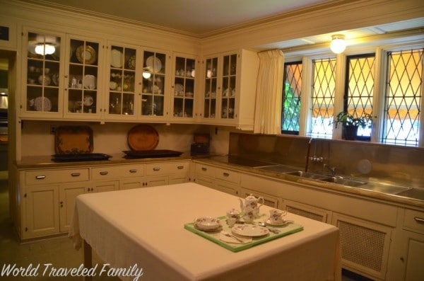 Edsel & Eleanor Ford House - kitchen